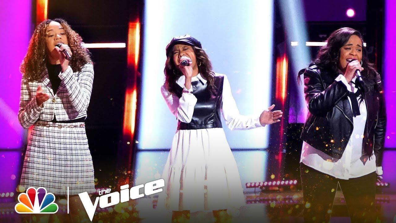 Sister Trio KCK3 Performs Ariana Grande's
