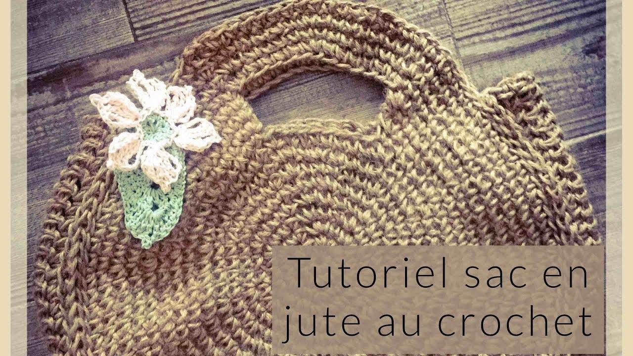 comment faire un sac rond au crochet en corde de jute tutoriel avec l astuce du rond bien rond