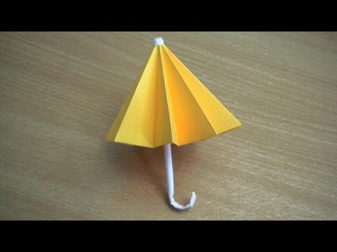 DIY || How to Make a Paper Umbrella || Easy paper knife Tutorials