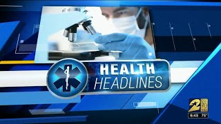 Health headlines for May 24, 2019