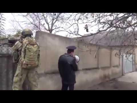 Russian FSB operators during special operation in Kabardino-Balkar republic.