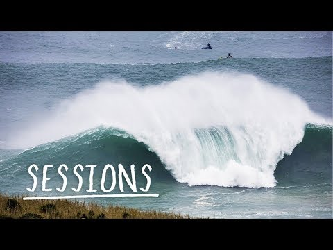 Relive The Greatest Waves Nazaré Has To Offer | Sessions