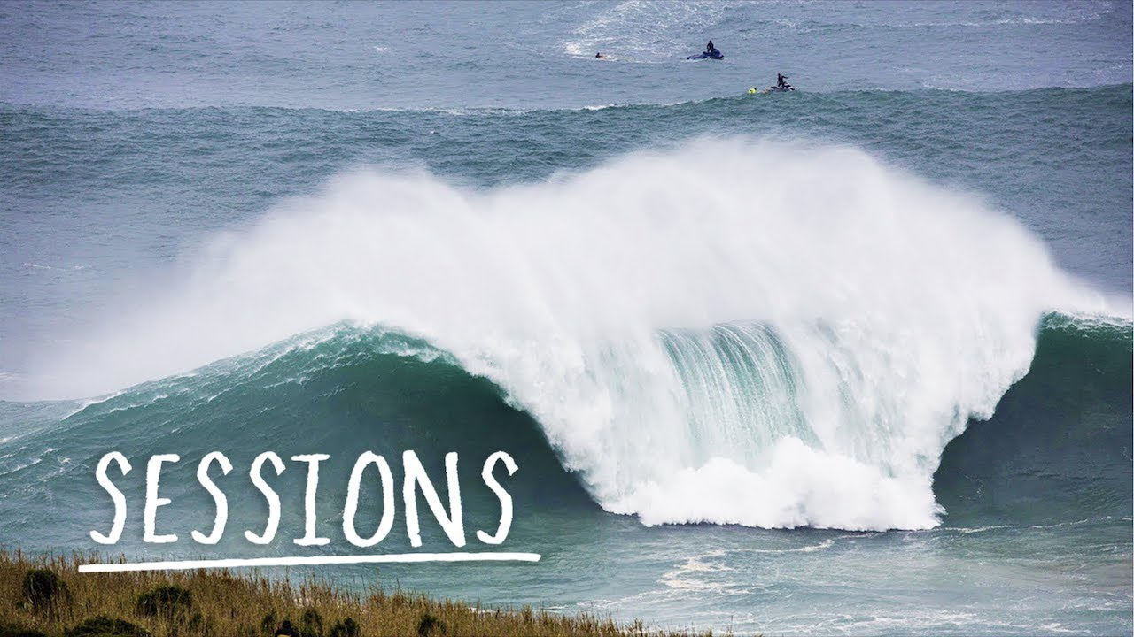 Relive the greatest waves from Nazaré