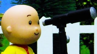 🔭 Caillou and the Telescope 🔭 | Funny Animated Kids show | Caillou Stop Motion
