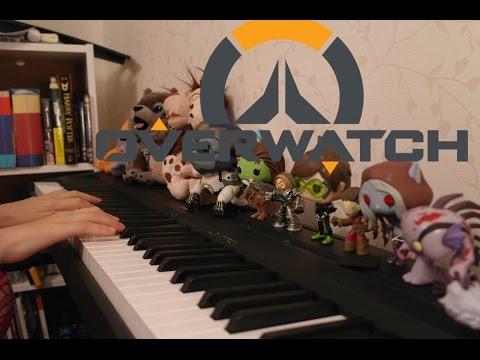 Overwatch - Eichenwalde Preview - Piano...