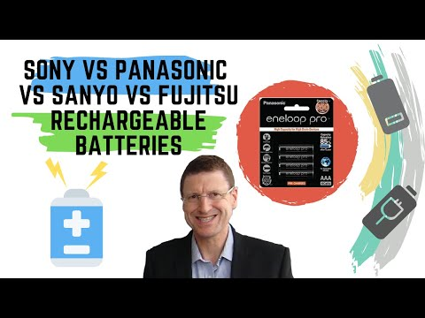 Sony vs Panasonic vs Sanyo vs Fujitsu Rechargeable Batteries - The one thing you need to know!