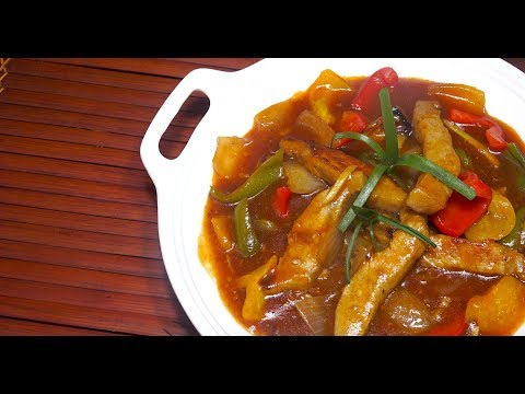 🔴 SUPER EASY SWEET n SOUR PORK - Sweet n Sour Pork - How To Make Sweet n Sour Pork - Chinese Pork