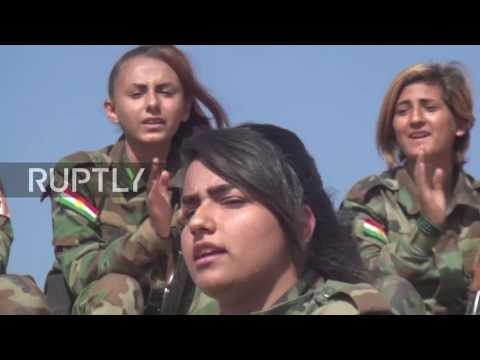 Iraq: Meet the female Kurdish fighters battling IS on the frontlines