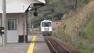 体質改善のリニューアル車の第5弾浜田鉄道部のキハ120-315が回送運転されました(^o^)