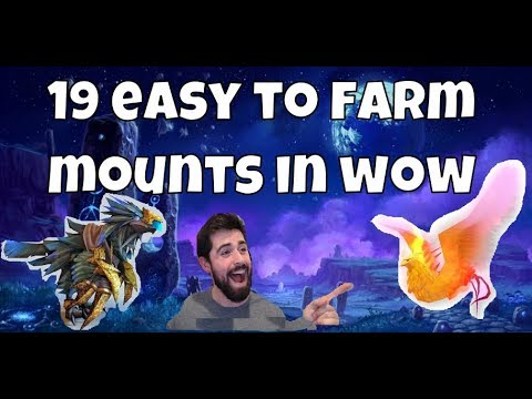 19 Easy To Farm Raid/Dungeon Mounts In WoW