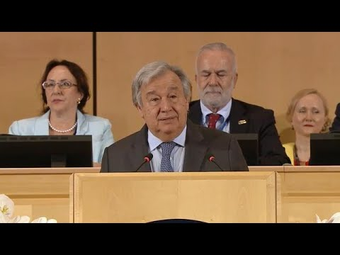 Historic Convention bans Violence and Harassment at Work - Remarked by UN Chief