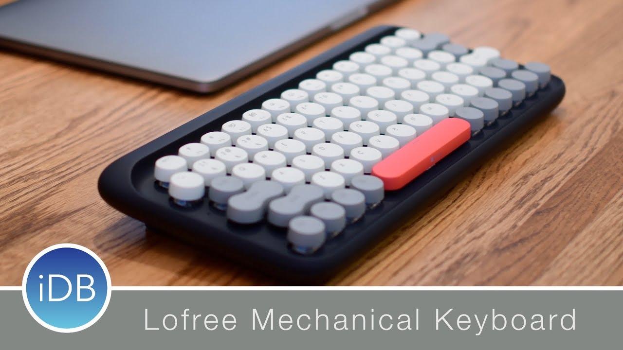 e41bc9d848c Lofree Dot Four Seasons Retro Mechanical Keyboard for Mac - Review ...