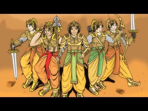 पांडवों के नामों के अर्थ