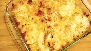Cheesy Chicken Bake Pasta।।Super easy and tasty cheesy bake pasta ever।।How to make bake pasta