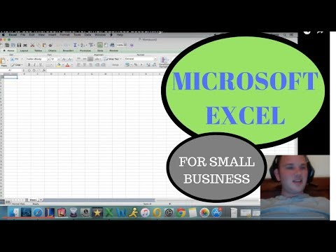 How to use Microsoft Excel for small business accounting.