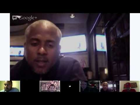 Texans at Patriots MNF Hangout with Laying Down The Law, Jeff Blake, Jay Foreman and Ray Mickens