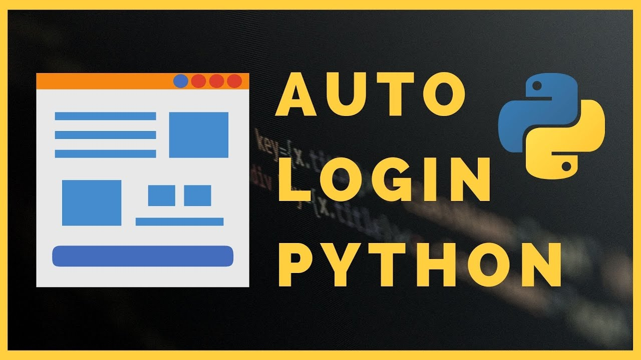 How to login automatically to any site in Python using Selenium