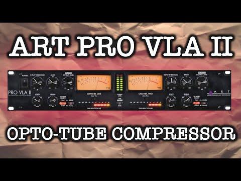 ART PRO VLA II Tube Compressor Test