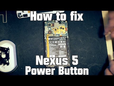 LG Nexus 5 Boot Loop Fix - Power Button Repair -