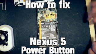 lg nexus 5 boot loop fix power button repair