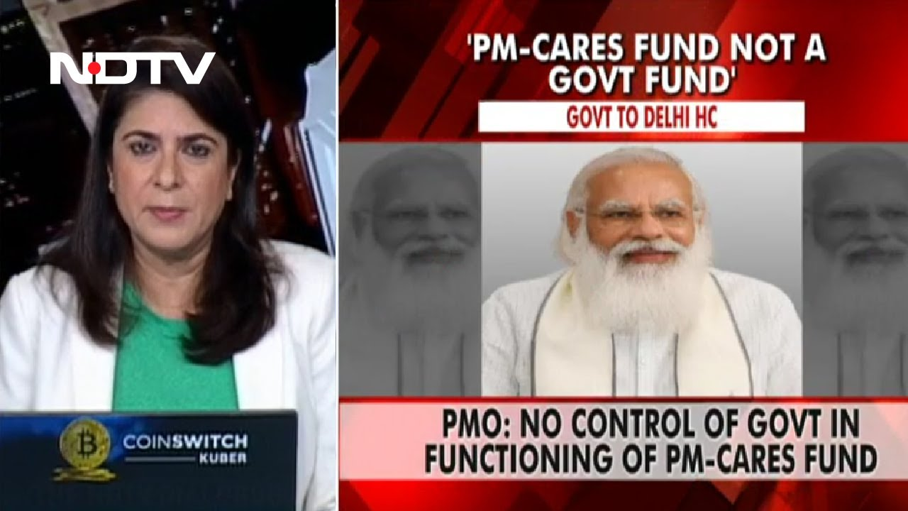 """PM CARES """"Not A Government Fund"""", Prime Minister's Office Tells High Court  - YouTube"""