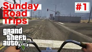 Road Trip: First Person (GTA V) PS4 Gameplay