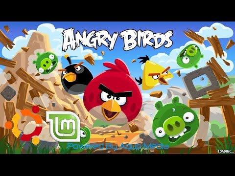 How to Play Angry Birds Game in Ubunthu or Linux 2016 in Tamil [Latest]