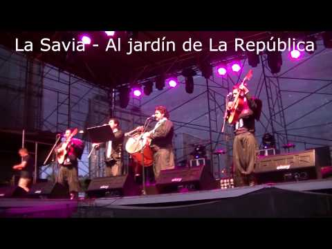 Al jard n de la rep blica la savia youtube for Al jardin de la republica