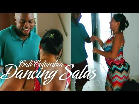 Learning How to Dance Salsa in Cali Colombia - Travel Vlog 4