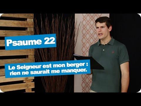 Psaume 22 - 07 Mai 2017 - Le Seigneur Est Mon Berger : Rien Ne Saurait Me Manquer.