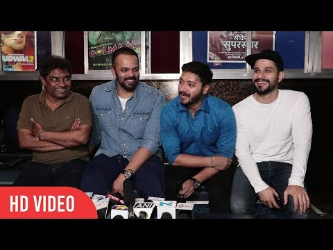 Golmaal Again Team at Gaiety Galaxy Full Interview | Rohit Shetty, Johnny Lever, Kunal, Shreyas.....