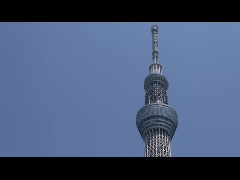 Tokyo Skytree, World's Tallest Tower, Now Open for Visitors (Part I)