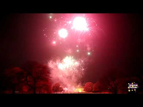Optimum Fireworks - Rudding Park Harrogate Wedding Display