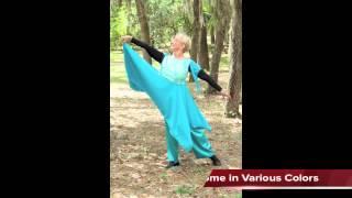 Worship Dance Wear Satin Pants