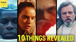 Star Wars: The Last Jedi Teaser Trailer 10 THINGS WE LEARNED