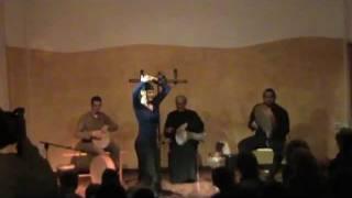 Claudia Heinle with Ibrahim & Aly el Minyawi in Khatawat