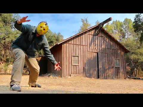 Friday The 13th Part 3 - The Filming Locations / Higgins Haven & Birth Of The Hockey Mask