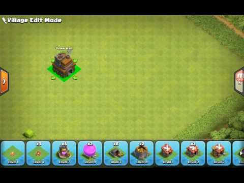 Best Town Hall 7 Base Without Barbarian King And Tesla And Dark