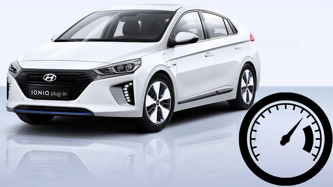 Hyundai Ioniq Plug In Hybrid Phev Acceleration 0 100 Km H 180 Top Sd 1001cars