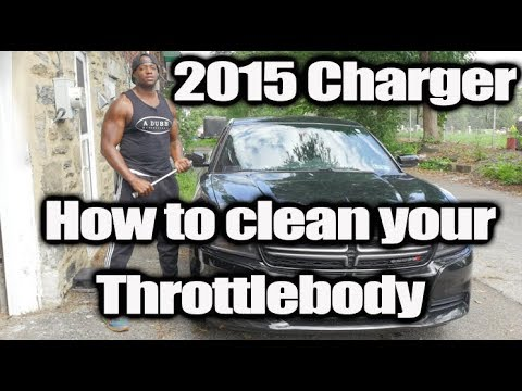 How to clean the Throttle body on your 2015 Dodge Charger (In Detail)