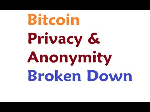 Bitcoin - Anonymity and Privacy further Discussed
