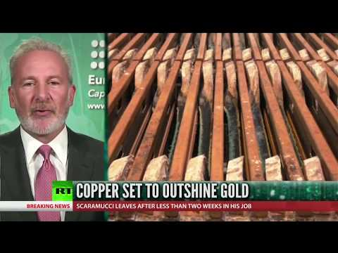 🔴 Peter Schiff Talks Copper vs Gold as an Investment