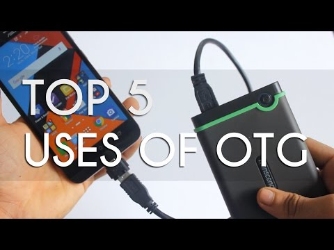 TOP 5 USES OF OTG !!