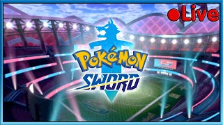 Pokemon Sword - Finishing The Game! (Maybe) - ???? Live