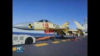 A closer look at China's J-15 fighter jets