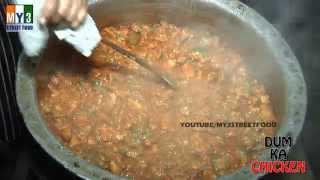 DUM KA CHICKEN | BEST HOTEL IN HYDERABAD | INDIAN STREET FOOD