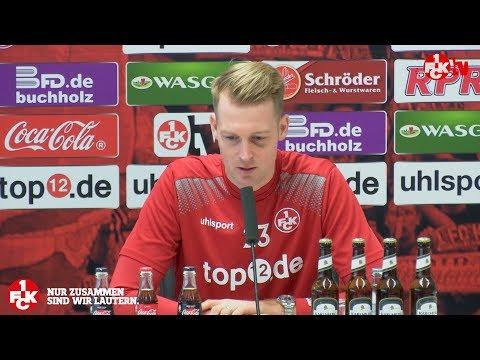 Pressekonferenz vor dem Darmstadt-Spiel
