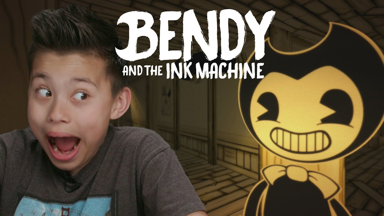 BENDY AND THE INK MACHINE!!! Scary Video Game! | Doovi