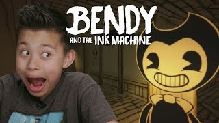 BENDY AND THE INK MACHINE!!! Scary Video Game!