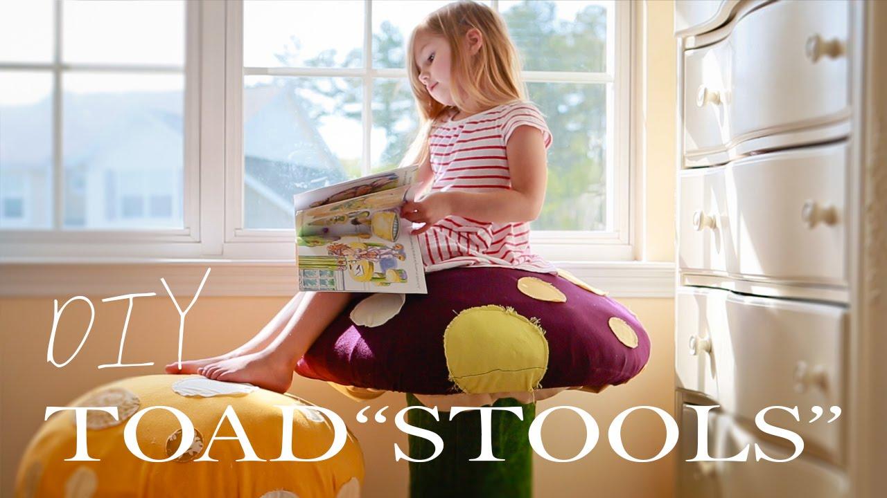 秋♪きのこの椅子の作り方☆赤ちゃん・子供用インテリア♡